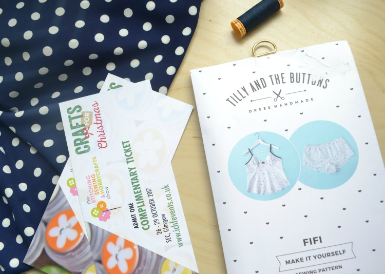 GIVEAWAY: Glasgow Hobbycraft Show and Tilly & the Buttons Sewing Pattern