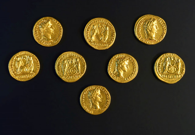 Gold coins discovered at German site where Roman legions were massacred