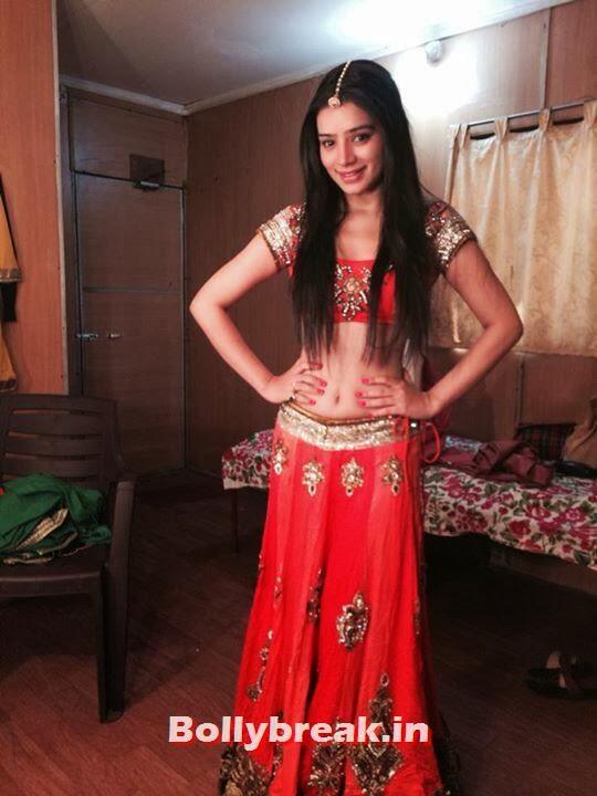 Sukirti Kandpal played second face of Dr.Riddhima Gupta in Dill Mill Gayye , Sukirti Kandpal backstage - Life Ok Screen Awards