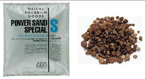 Phân lót ADA Power sand dồi dào dinh dưỡng phát triển hệ rễ của cây thủy sinh
