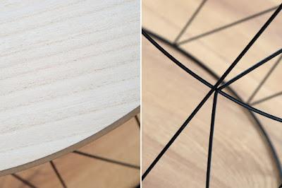 moderný nábytok Reaction, nábytok z dreva a kovu, industrialny nábytok