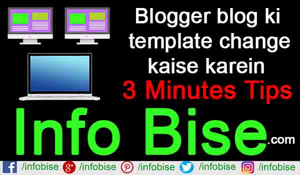 Blogger blog ki template change kaise karein step by step guide