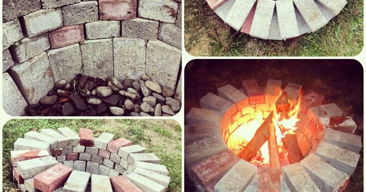 Campfire - Build Your Own Brick Fire Pit