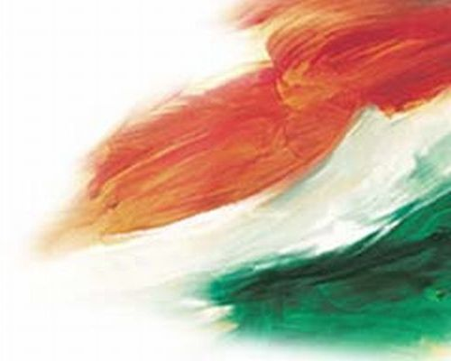 frankspot: WHAT IS THE COLOR OF THE TOP STRIP OF INDIAN FLAG?