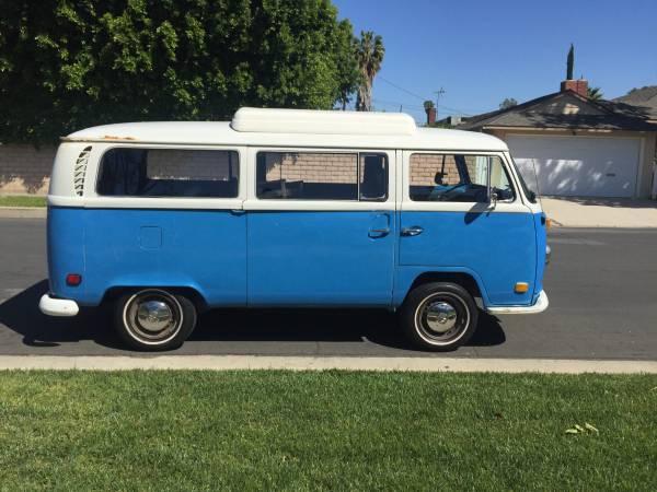 1972 VW Riviera Pop Up Camper | vw bus wagon