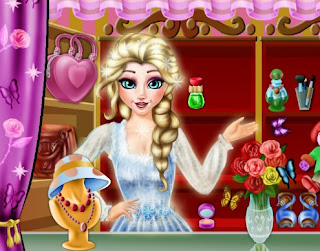 Elsa Shopping Boutique Frozen Online Games