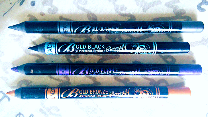 Barry M Bold Waterproof Eyeliners