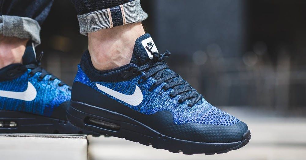 quite nice ad428 41faf Air Max 1 Ultra Flyknit Blue leoncamier.co.uk