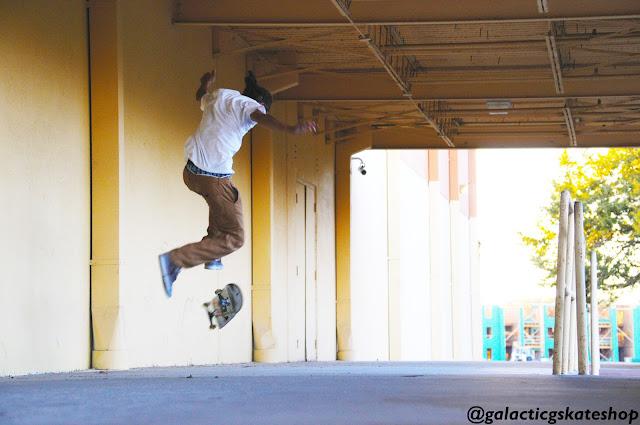 skateboarding trick 360flip