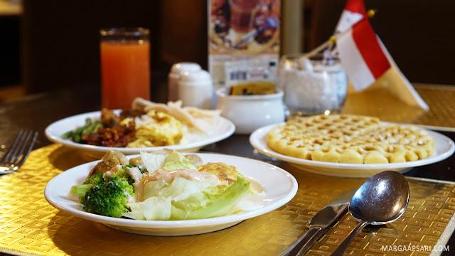 Breakfast di Best Western Mangga Dua