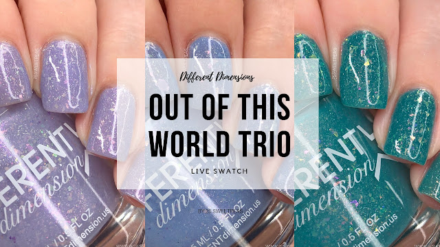 Different Dimensions Out Of This World Trio