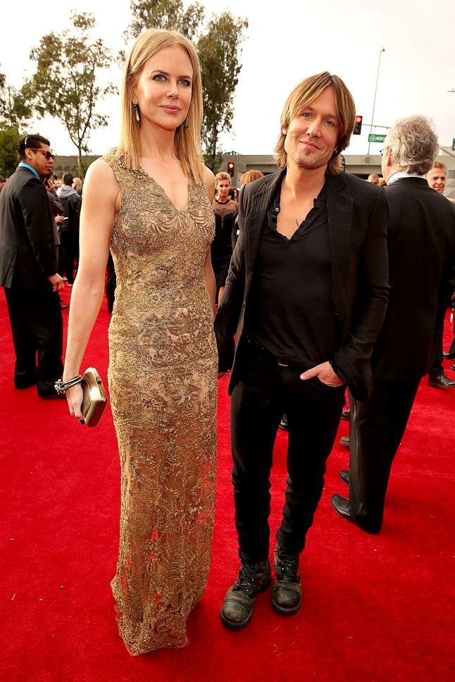 Nicole Kidman Shines in Fred Leighton's Jewels at 2013 Grammy Awards