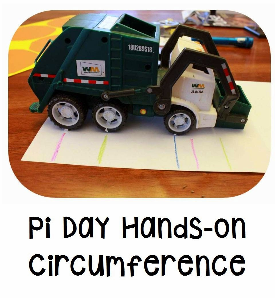 Circumference Activity for Pi Day