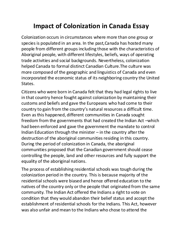 an essay on canada and its education An essay has been defined in a variety of ways one definition is a prose composition with a focused subject of discussion or a long, systematic discourse it is difficult to define the genre into which essays fall.