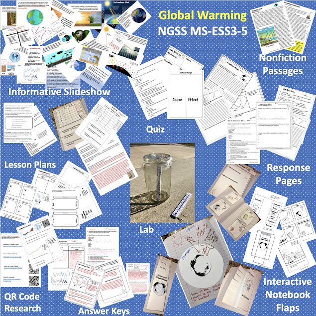 Middle School NGSS Unit Global Warming