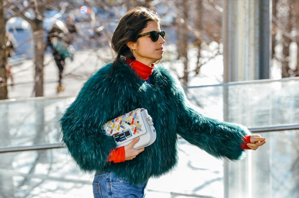 turtlenecks new york fashion week street style