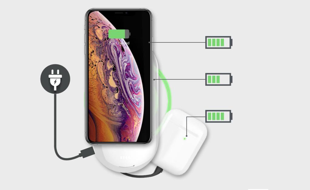 Đánh giá nhanh Mipow Cube X2 - Pin sạc dự phòng không dây chuẩn Qi