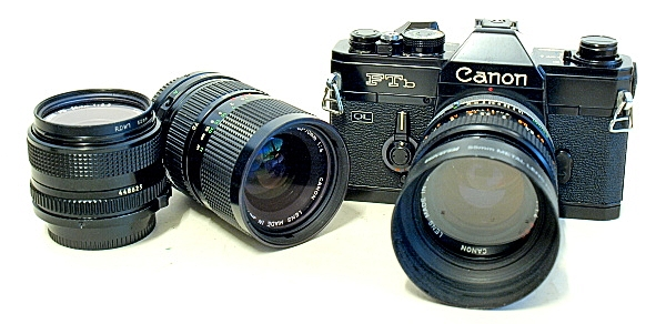 Canon FTb QL 35mm SLR Film Camera