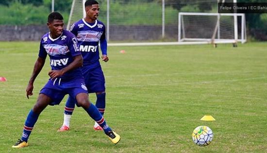 Com retorno de Hernane Brocador, Bahia enfrenta o Joinville