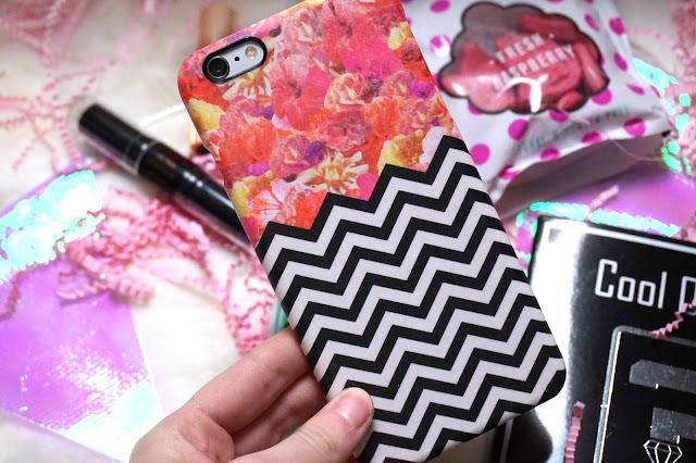 Caseable Chevron Flora Case