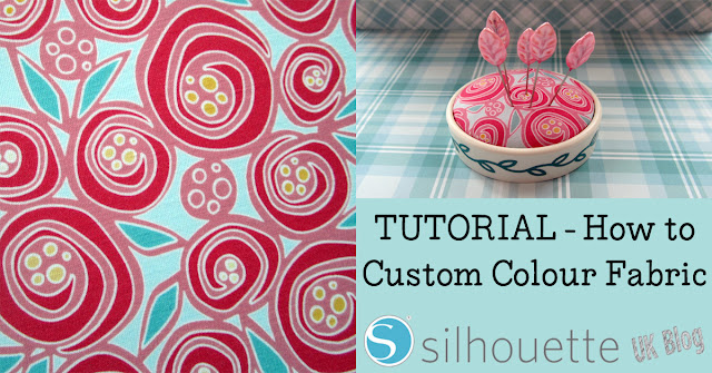 Tutorial by Janet Packer (craftingQuine)  #silhouettecameo #silhouette #fabric #sewing #pincushion