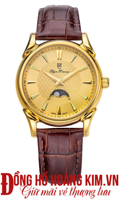 Đồng hồ Olym Panus dây da bán chạy nhất 2016 tại cầu Giấy