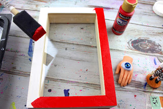 diy-make-paint-shadow-box