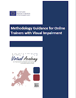Link to Methodology Guidance for Online Trainers with Visual Impairment