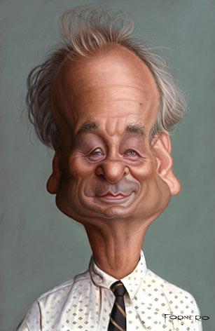 Bill Murray por Walter Fornero