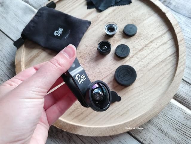Bulles de Plume test objectifs photos Pack Starter Pixter