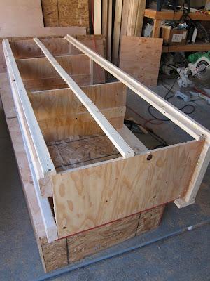 Do It Yourself Divas DIY King Size Storage Bed Part Drawers - Diy storage bed ideas