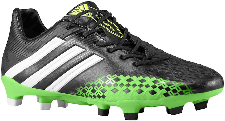 check out effe9 fdd05 ... promo code for adidas predator lz ii black ray green running white  0070b 3863c