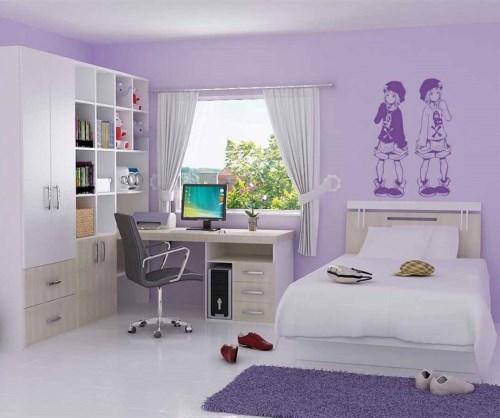 Desain interior kamar tidur rumah minimalis