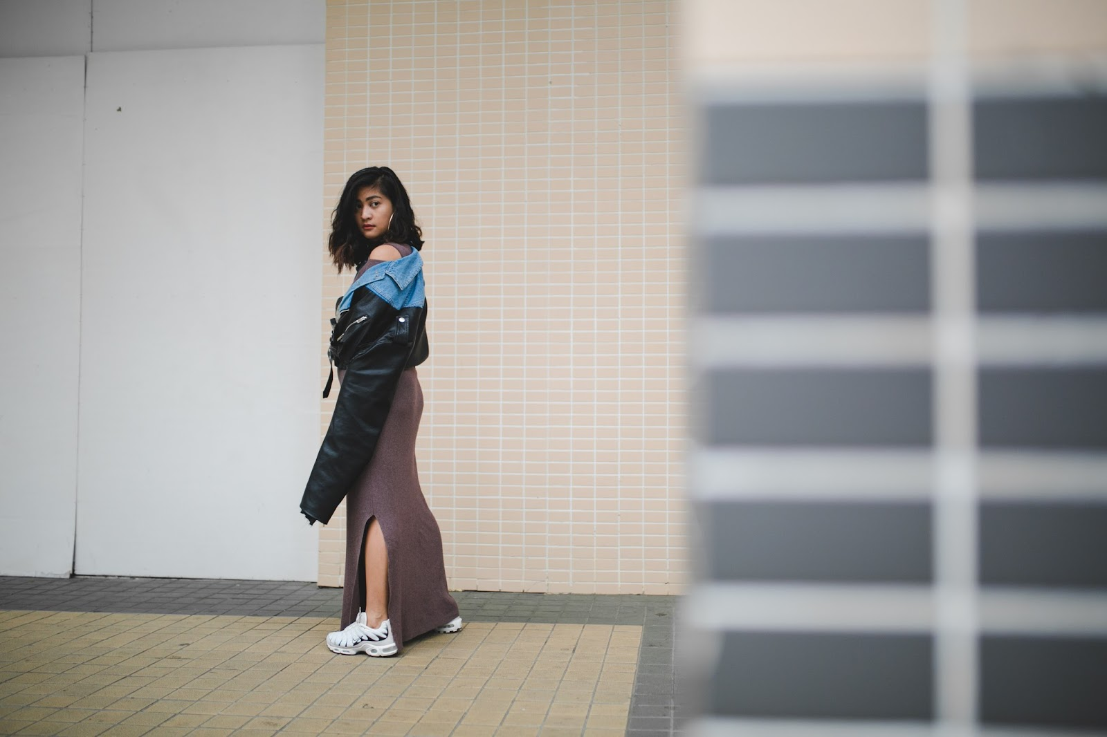 Macau Fashion blogger outfit wearing Nikelab