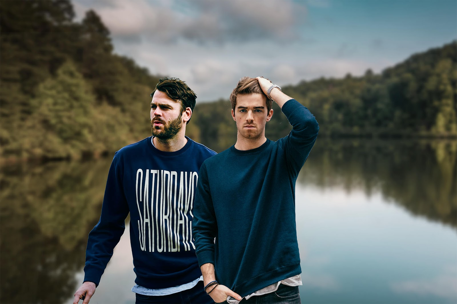 The Chainsmokers están colaborando con Chris Martin, Ryan Tedder y Bono