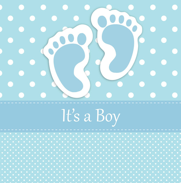 "Envoltorio para Chocolates ""It´s a Boy""."