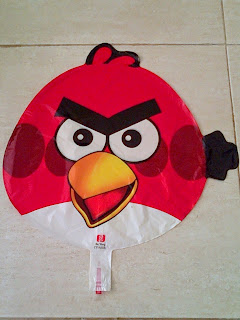 Foil Character Angry Bird Merah