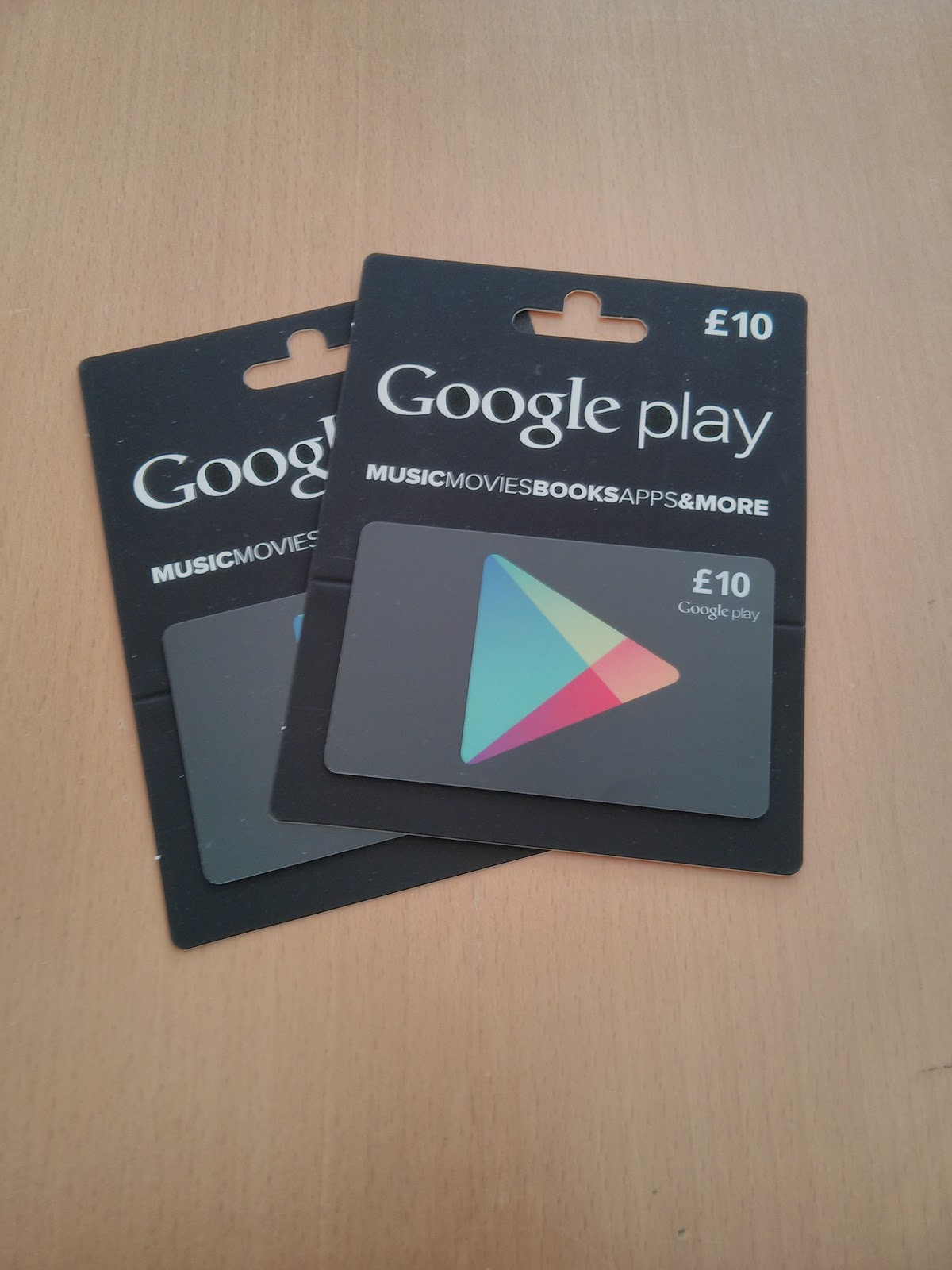 Mechanicalee Automotive Blog: Google Play Gift Cards Now ...