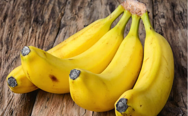 get rid of oily skin banana