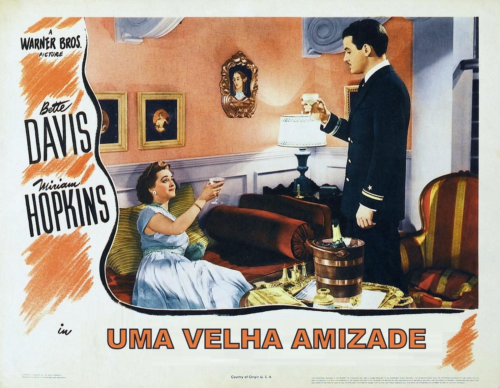 Poster do filme Uma Velha Amizade