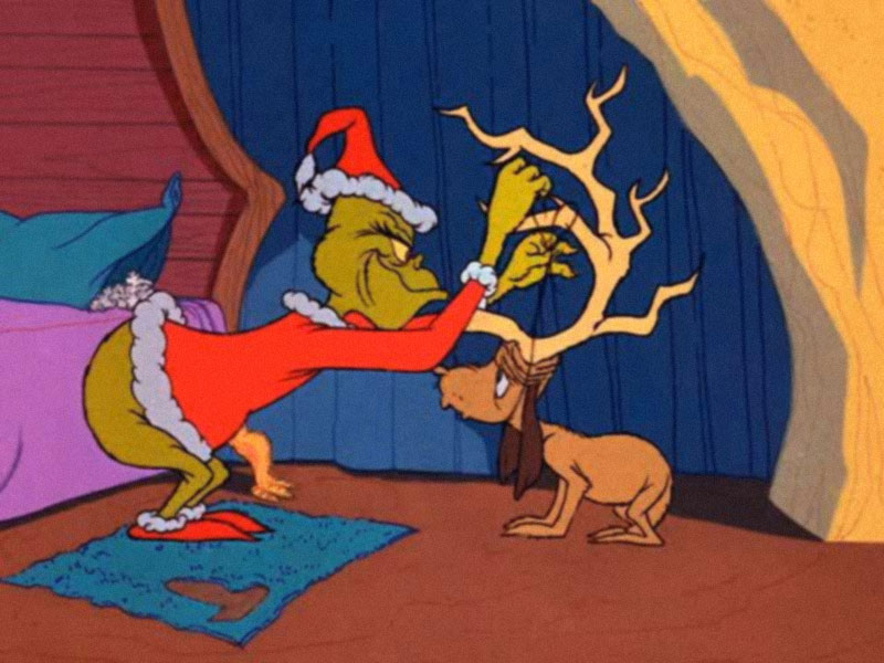 Grinch Stole Christmas Dog.How The Grinch Stole Christmas 1966 Afa Animation For