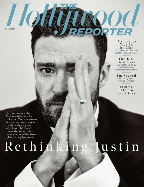 Justin Timberlake Talks Fatherhood,Why He Left NSYNC & More In THR's New Issue