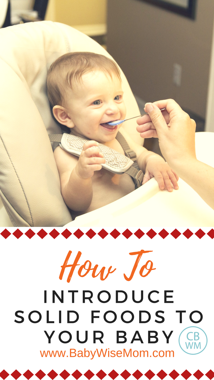 How to Introduce Solid Foods to Your Baby | solid foods | feeding baby | #baby #solidfoods