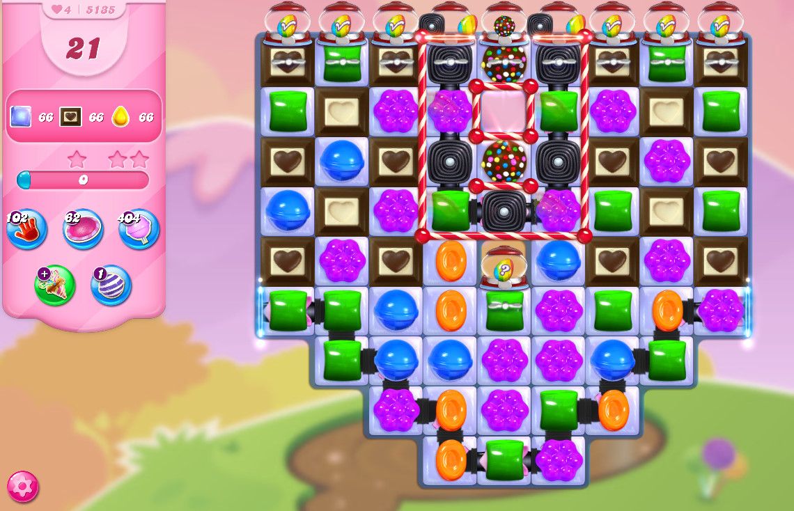Candy Crush Saga level 5135