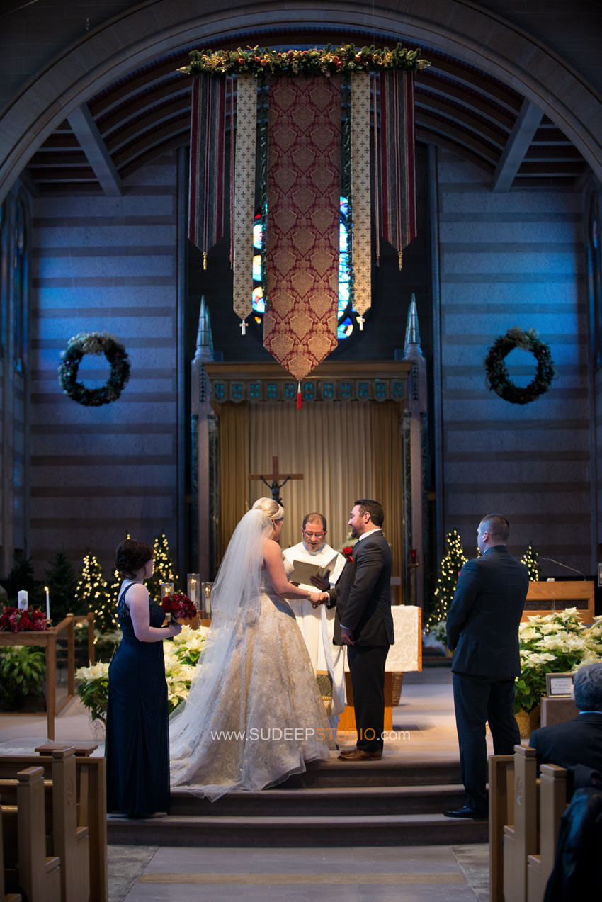 Royal Oak St. Mary's church Wedding Photography - Sudeep Studio
