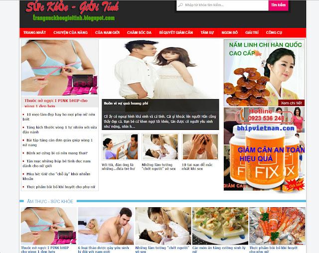 Share Template Blogspot là tin tức, sức khoẻ, báo..