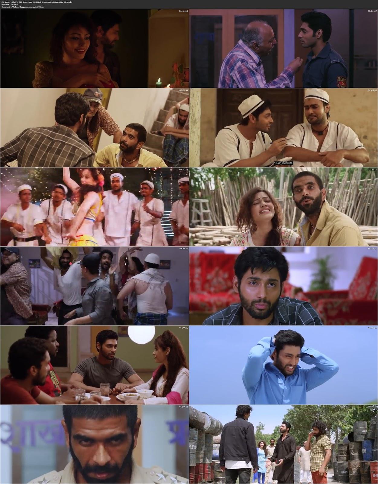 Khel To Abb Shuru Hoga 2016 Hindi 300MB HDRip 480p at movies500.site