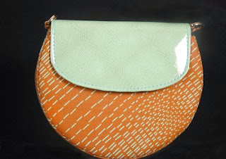 Leather and  Ankara clutch-www.typearls.org