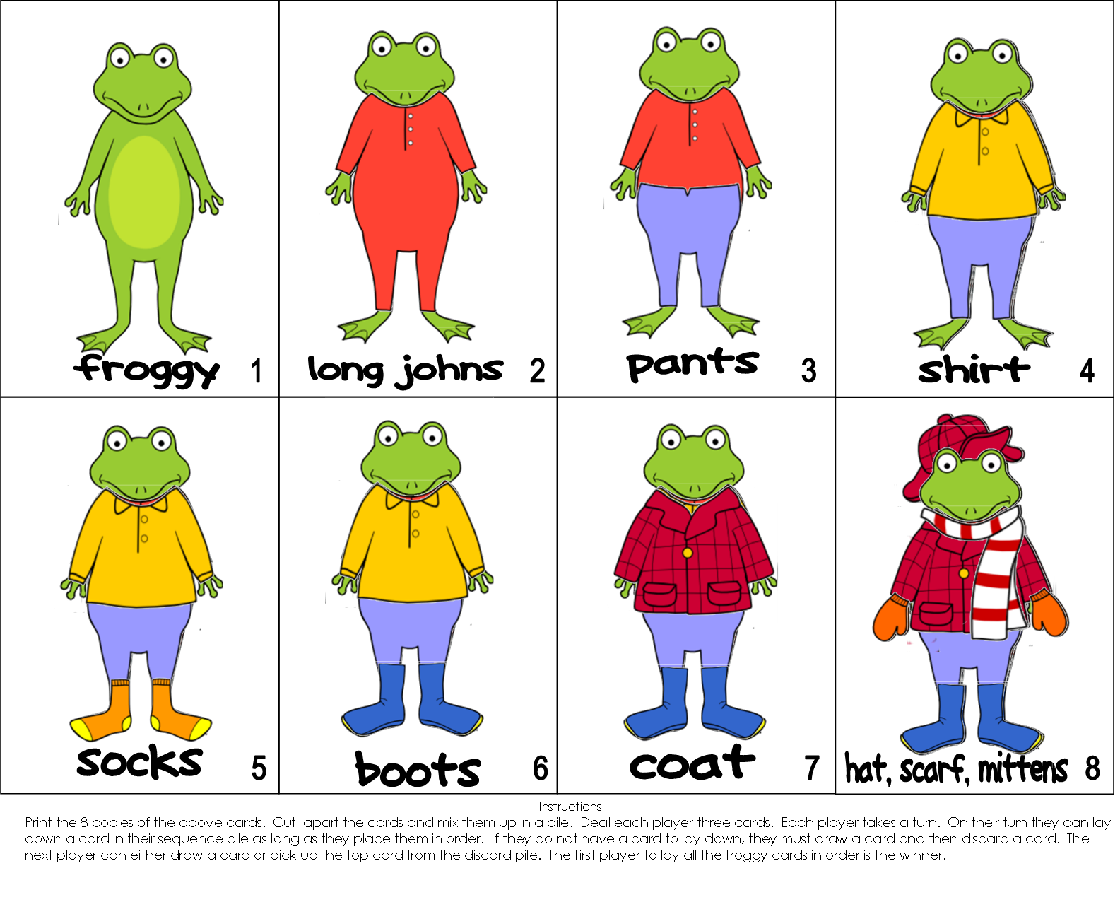 The Paperbag Teachers Froggy Gets Dressed
