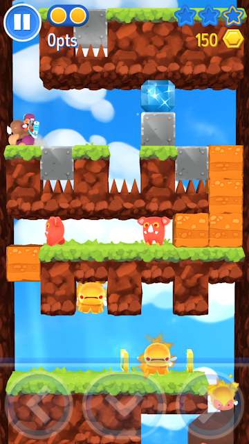 Starlit Adventures is an action packed free to play game that you will fall in love playing with. You'll have a lots of fun with clever controls, cute characters & beautiful visuals that delivers you a valuable & memorable experience.